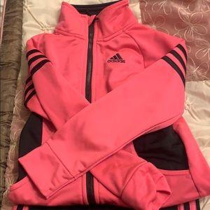 Girls Adidas track suit